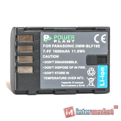 Аккумулятор PowerPlant Panasonic DMW-BLF19 1600mAh