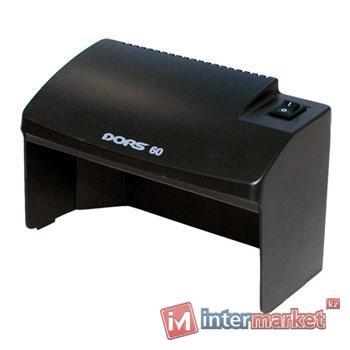 Ультрафиолетовый детектор валют (банкнот) DORS 60 (черный)