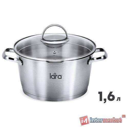 Кастрюля LARA BOHEMA LR02-510 16x9.5см 1.6л