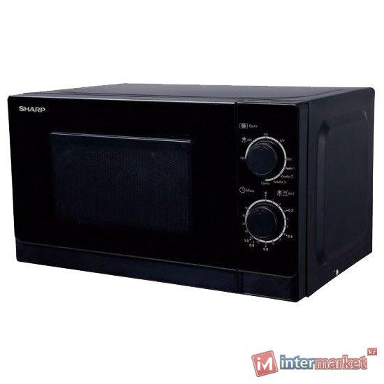 Микроволновая печь Sharp R2000RK соло, black /