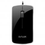 Мышь Delux DLM-125OUB, Black USB