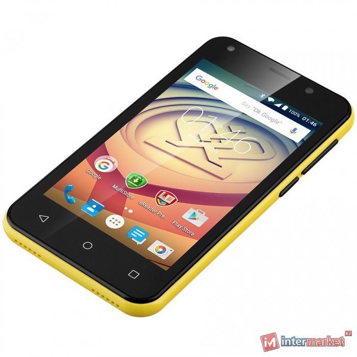 Смартфон Prestigio MultiPhone Wize L3, Yellow