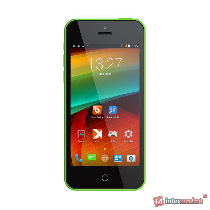 Смартфон TeXet iX-mini, Green