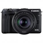 Цифровой фотоаппарат Canon EOS M3 EF 15-45 IS STM Black
